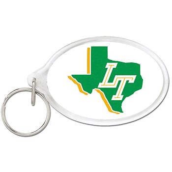 Lebanon Trail Blazers Oval Acrylic Key Ring