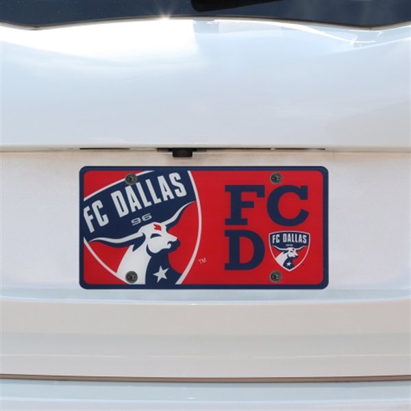 FC Dallas Team Logo License Plate