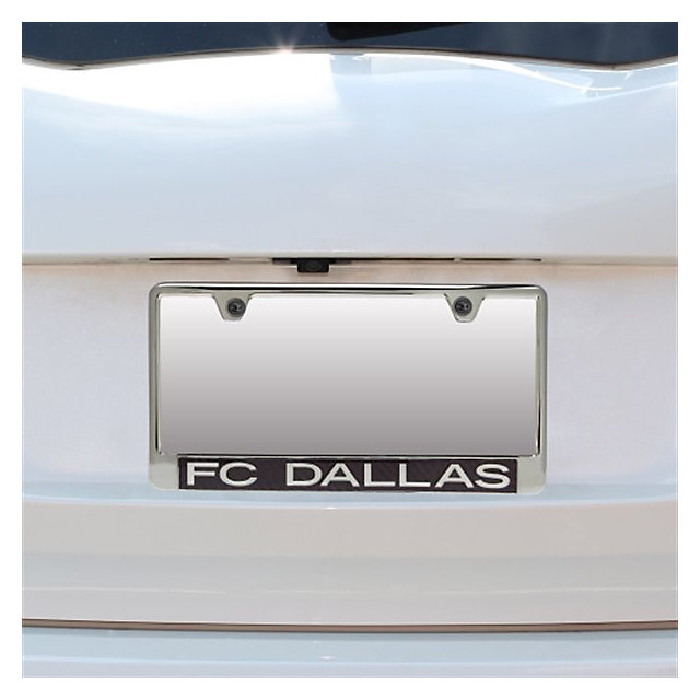 FC Dallas Carbon Fiber Logo License Plate