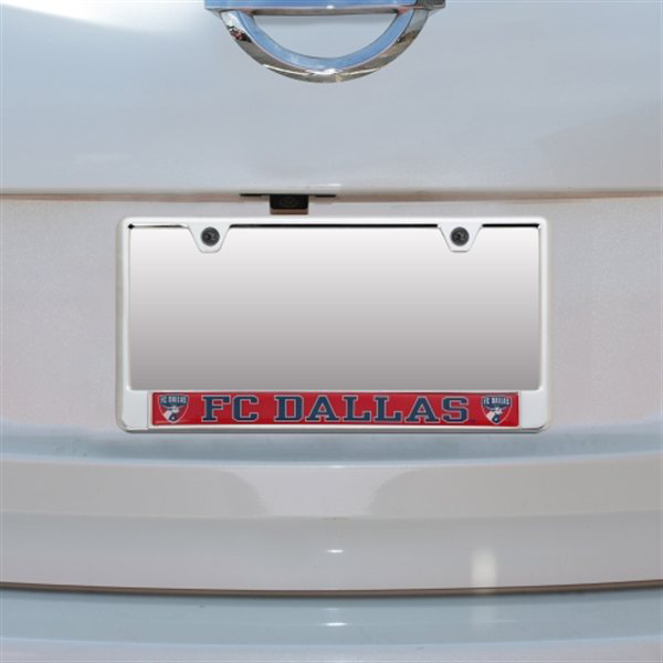 FC Dallas Domed Insert License Plate Frame