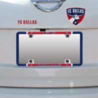 FC Dallas Decal Combo License Plate Frame