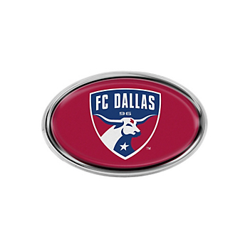 FC Dallas Oval Domed Logo Emblem