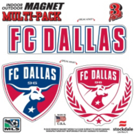 FC Dallas 8x8 Multi-Pack Magnets