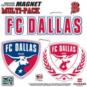 FC Dallas 8x8 Multi-Pack Magnets