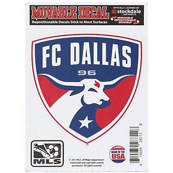 FC Dallas 5x7 Movable Decal