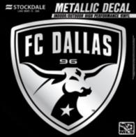FC Dallas 6x6 Metallic Decal