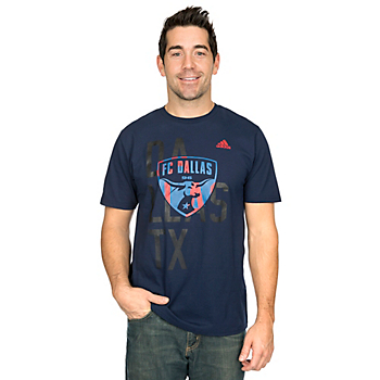 FC Dallas Adidas Shine Through Tee