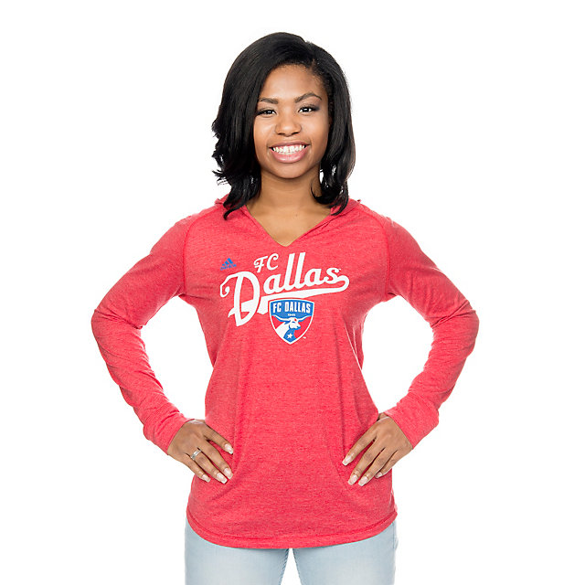 FC Dallas Adidas Kick Sweep Long Sleeve Tee
