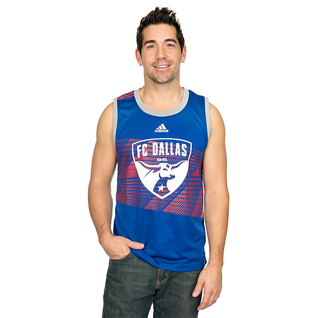 FC Dallas Adidas Mens Evolution Tank