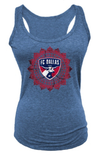 FC Dallas Womens Triblend Racerback Tank