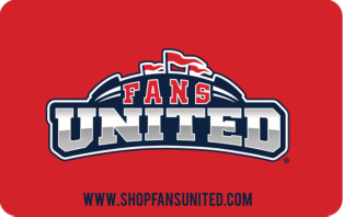 Fans United Gift Card $5-$100