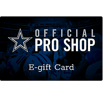 Dallas Cowboys E-Gift Card