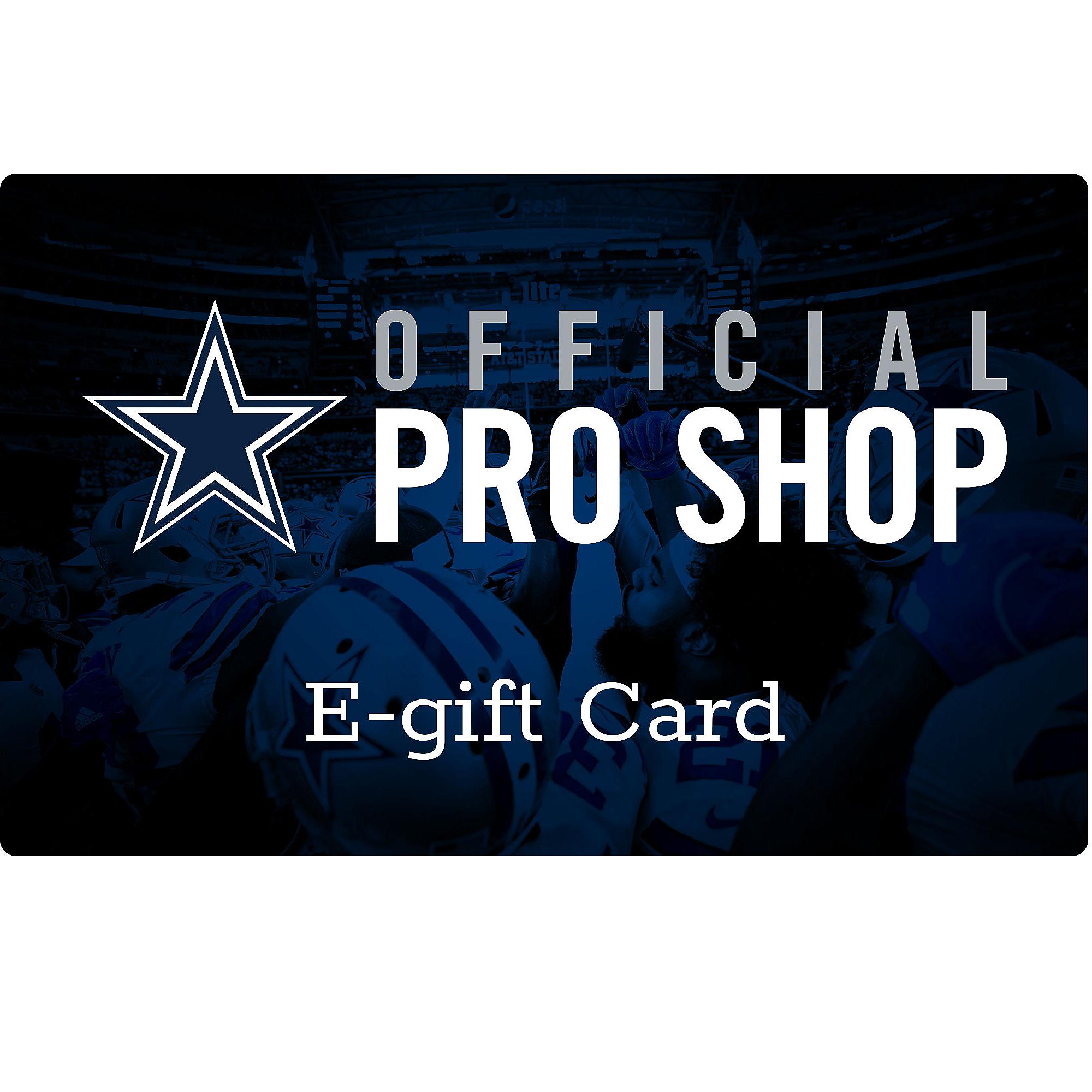 Dallas Cowboys E-Gift Card