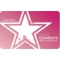 Dallas Cowboys Ladies Gift Card $5-$100