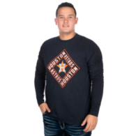 Houston Astros 47 Scrum Long Sleeve T-Shirt