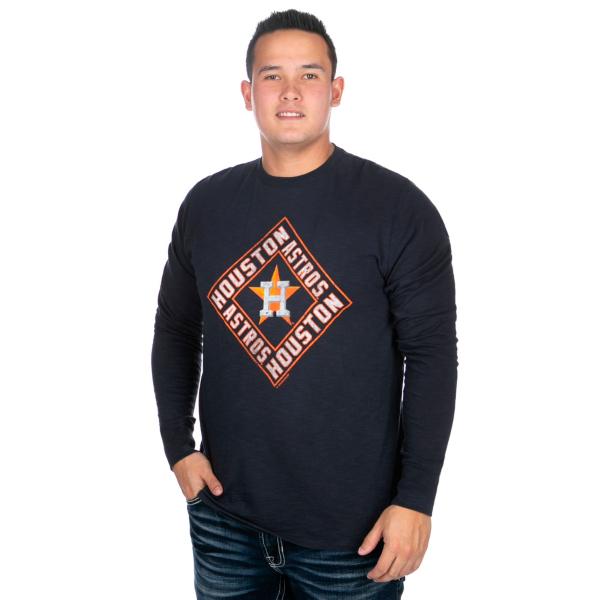 Houston Astros 47 Scrum Long Sleeve T-Shirt