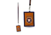 Houston Astros Neon Beaded Lanyard ID Card