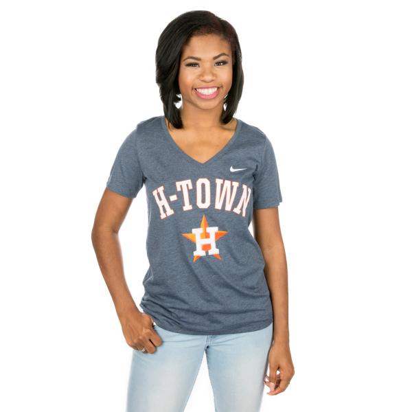 Houston Astros Nike Womens Local Phrase Tee