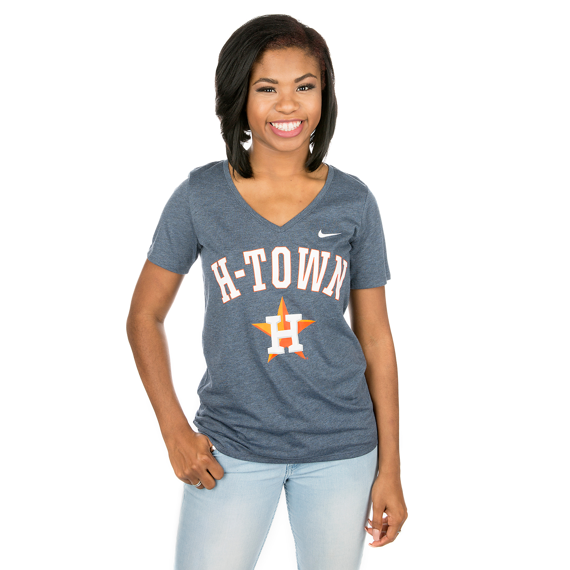 Houston Astros Nike Womens Local Phrase Tee