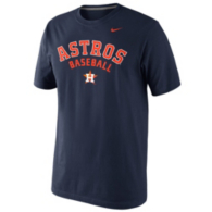 Houston Astros Nike Short Sleeve Practice Tee