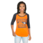 Houston Astros 5th & Ocean Ladies Scoop Neck Tee