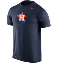 Houston Astros Nike Heather Dri-FIT Touch Short Sleeve Tee
