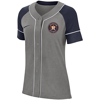 Houston Astros Womens Nike Dry Jersey Top