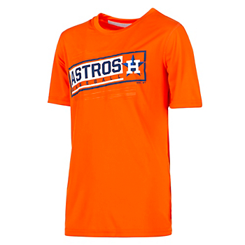 Houston Astros Gen 2 Youth Field View Dri-Tek T-Shirt
