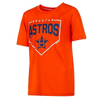 Houston Astros Gen 2 Youth Slider Dri-Tek T-Shirt