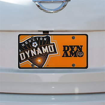 Houston Dynamo Team Logo License Plate