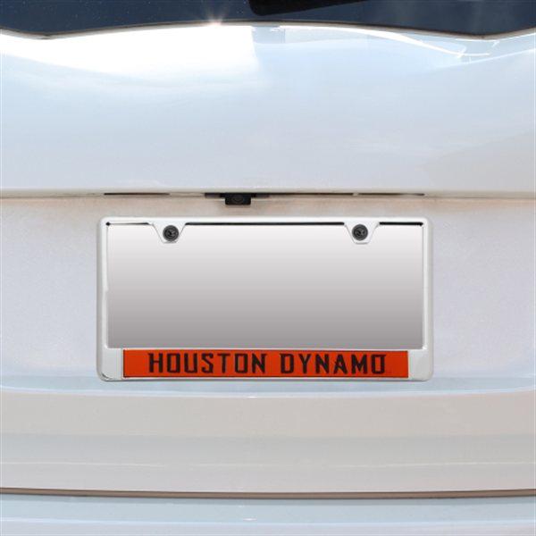 Houston Dynamo Team Color Background License Plate Frame