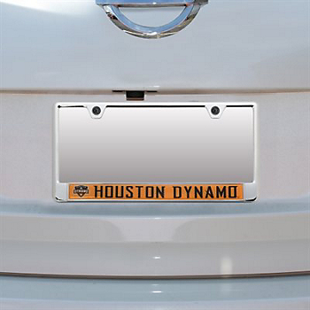 Houston Dynamo Domed Insert License Plate Frame