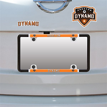 Houston Dynamo Decal Combo License Plate Frame