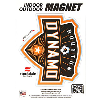 Houston Dynamo 5x7 Magnet