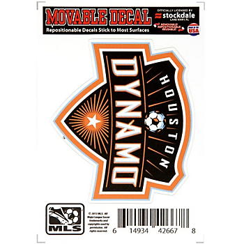 Houston Dynamo 3x5 Movable Decal