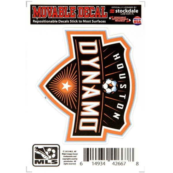 Houston Dynamo 3x5 Movable Decal