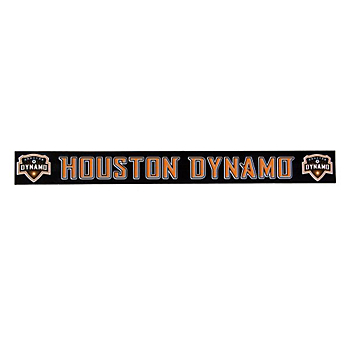 Houston Dynamo Decal 2x19 Strip Color