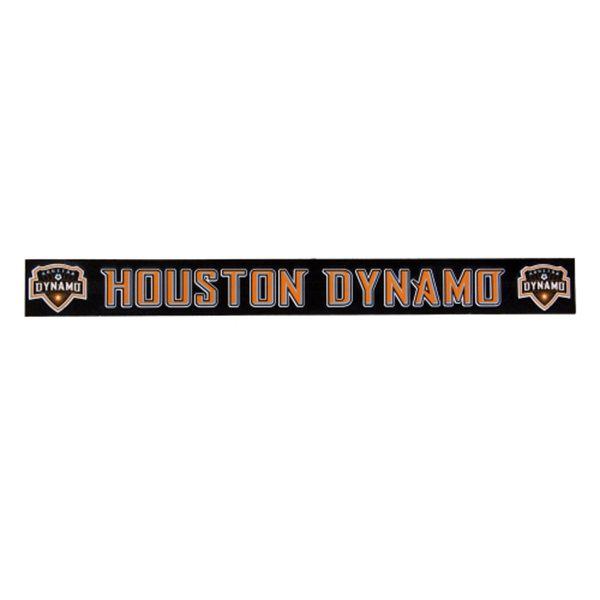 Houston Dynamo Decal 2x19 Strip Color