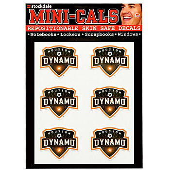 Houston Dynamo 4x5 Mini Cals