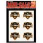 Houston Dynamo 4x5 Mini Cals
