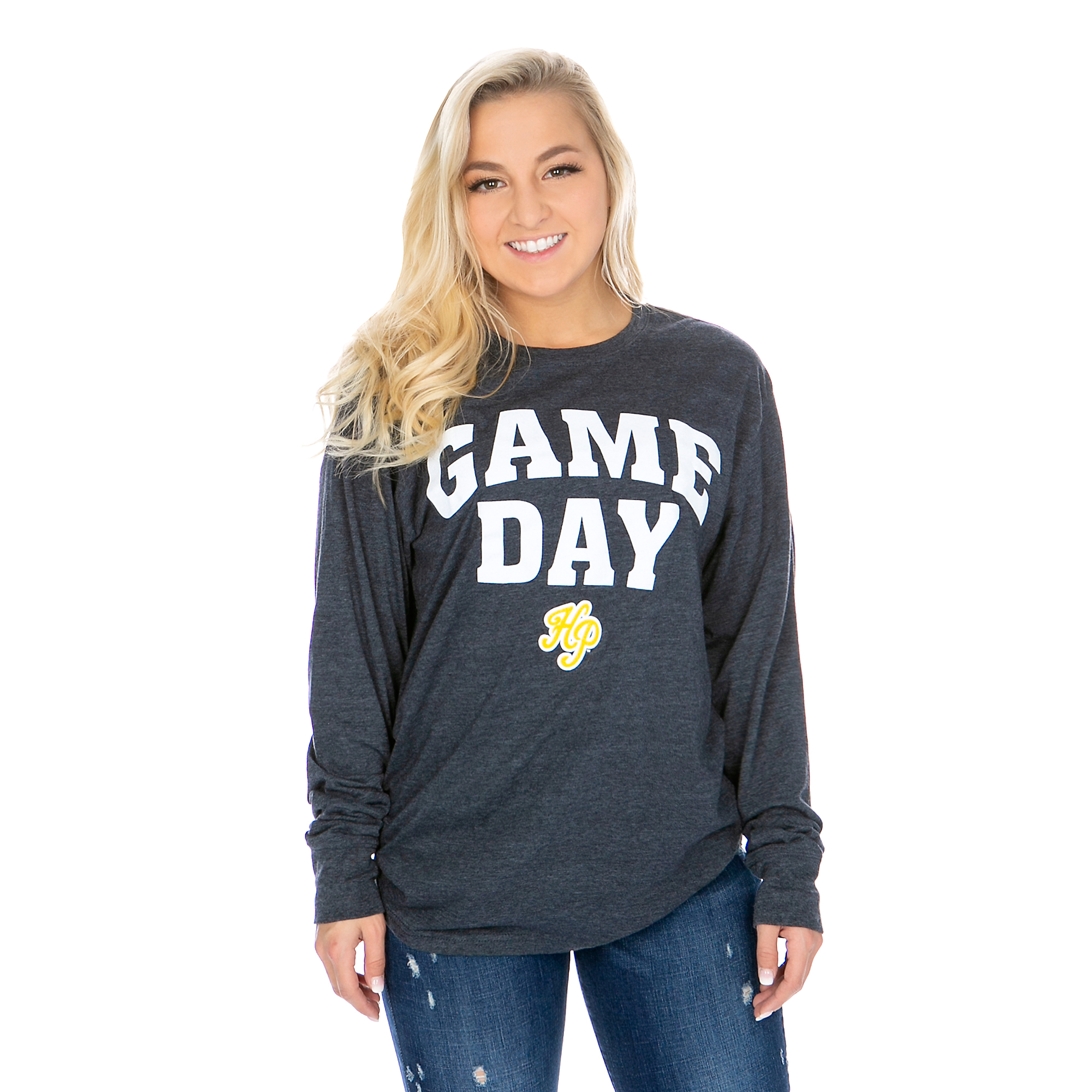 Highland Park Scots Pressbox Womens Game Day Tee