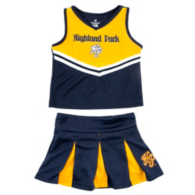Highland Park Scots Colosseum Toddler Pom Pom Set