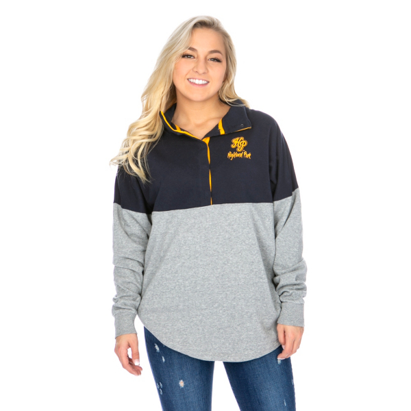 Highland Park Scots Colosseum Womens Breakthrough Snap Pullover