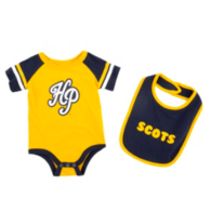 Highland Park Scots Colosseum Infant Roll-Out Onesie and Bib Set