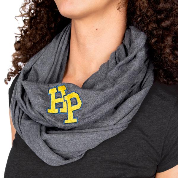 Highland Park Scots Logo Knit Infinity Scarf