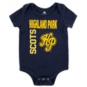 Highland Park Scots Colosseum Infant Boys 3-Pack Onesie Set