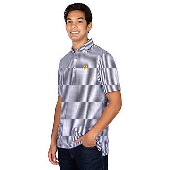 Highland Park Vineyard Vines Winstead Striped Polo