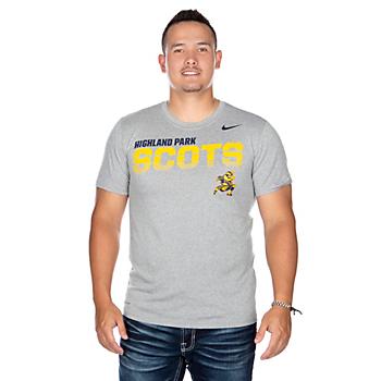 Highland Park Scots Nike Sideline Short Sleeve T-Shirt