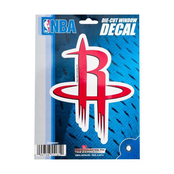 Houston Rockets Die Cut Decal