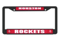 Houston Rockets Black License Plate Frame